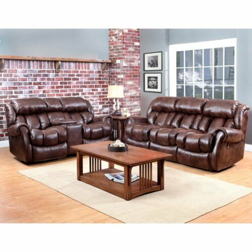 HomeStretch Cody 3 Piece Living Room Set, 88 in. W x 40 in. D x 41 in. H