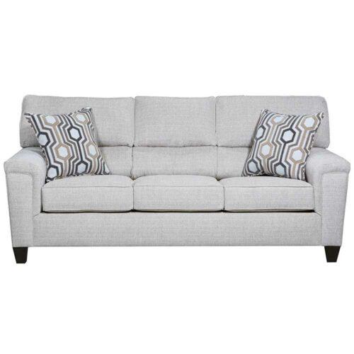 Lane Furniture Home Essentials Dante Almond Queen Sleeper Sofa, 88 in. W x 37 in. D x 38 in. H