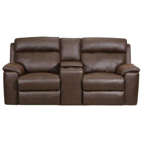 Lane Furniture Home Furnishings Koda Tobacco Power Motion Loveseat Sofa, 74 in. W x 41 in. D x 42 in. H