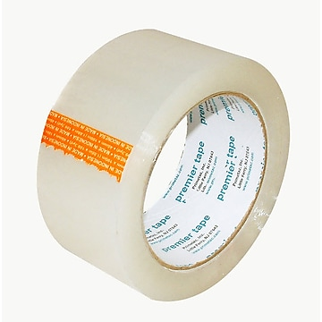 """SI Products Carton Sealing Tape for Hand Held Dispensers, 2""""x 110 yds, Clear, 36 Rolls/Carton (401-2X110)"""