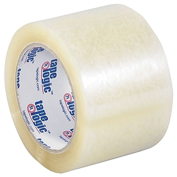 "Tape Logic 3"" x 110 yds. x 2 mil Acrylic Tape, Clear, 6/Pk"